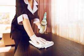 disinfect hotel
